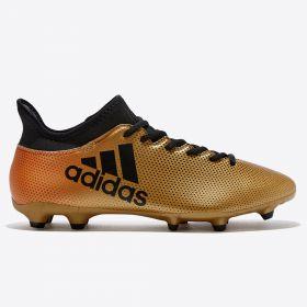 adidas X 17.3 Firm Ground Football Boots - Gold