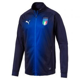 Italy Training Stadium Jacket - Navy