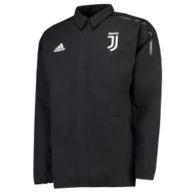 Juventus ZNE Woven Anthem Jacket - Black