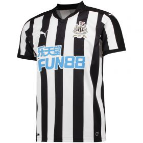 Newcastle United Home Shirt 2017-18 with Shelvey 12 printing