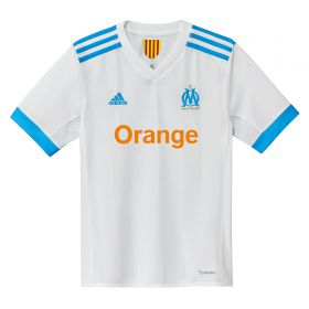 Olympique de Marseille Home Shirt 2017-18 - Kids with Sanson 8 printing