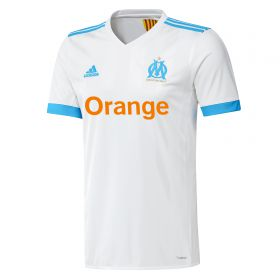 Olympique de Marseille Home Shirt 2017-18 with L. Gustavo 19 printing