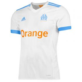 Olympique de Marseille Home Shirt 2017-18 with Sanson 8 printing