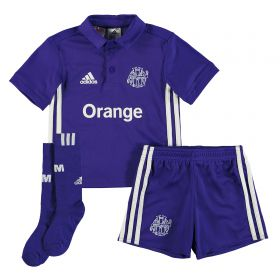 Olympique de Marseille Third Mini Kit 2017-18 with Cagnon 1 printing