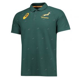 South Africa Performance Polo - Green