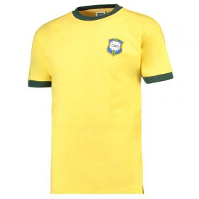 Brazil 1970 World Cup Final Shirt