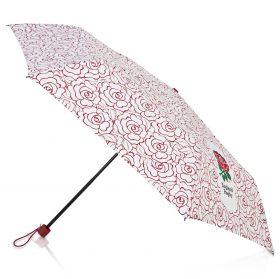 England Rose Telescopic Umbrella