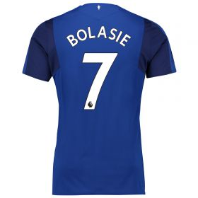 Everton Home Shirt 2017/18 - Junior with Bolasie 14 printing
