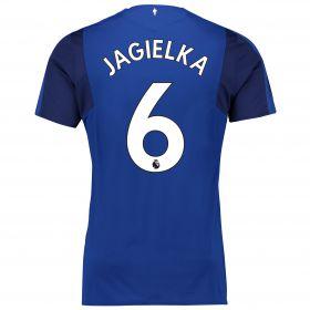 Everton Home Shirt 2017/18 - Junior with Jagielka 6 printing