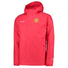 Manchester United Columbia Watertight ll Jacket - Cherrybomb - Mens