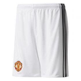 Manchester United Home Shorts 2017-18 - Kids