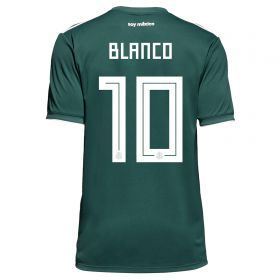 Mexico Home Legends Shirt 2018 with Blanco 10 printing