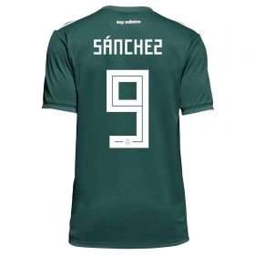 Mexico Home Legends Shirt 2018 with Sánchez 9 printing