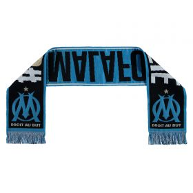Olympique de Marseille Fan Scarf - Black - Adult