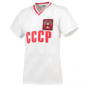 Soviet Union 1986 World Cup Finals Away Shirt