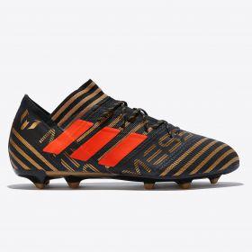 adidas Nemeziz Messi 17.2 Firm Ground Football Boots - Black
