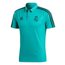 Real Madrid Training Polo - Turquoise