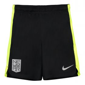 Nike Neymar Dry Squad Training Shorts - Black - Kids