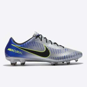 Nike Neymar Jr. Mercurial Veloce III Firm Ground Football Boots - Chrome