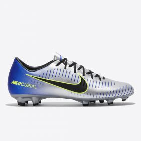 Nike Neymar Jr. Mercurial Victory VI Firm Ground Football Boots - Chrome