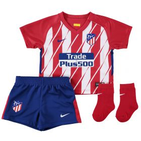 Atlético de Madrid Home Stadium Kit 2017-18 - Infants with Vitolo 23 printing
