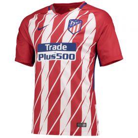 Atlético de Madrid Home Stadium Shirt 2017-18 - Kids with Vitolo 23 printing