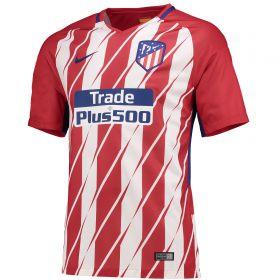 Atlético de Madrid Home Stadium Shirt 2017-18 with Vitolo 23 printing