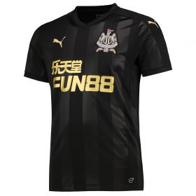 Newcastle United Third Shirt 2017-18 with Shelvey 12 printing