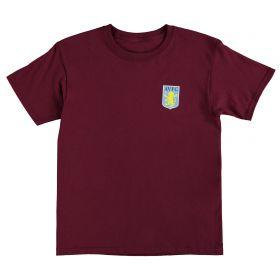 Aston Villa Classic T-Shirt - Claret - Junior