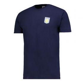 Aston Villa Classic T-Shirt - Navy - Junior
