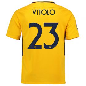 Atlético de Madrid Away Stadium Shirt 2017-18 Special Edition Metropolitano with Vitolo 23 printing