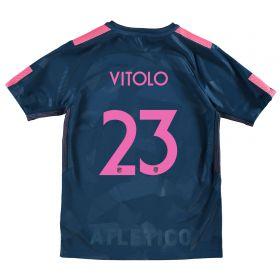 Atlético de Madrid Third Stadium Shirt 2017-18 - Kids Special Edition Metropolitano with Vitolo 23 printing