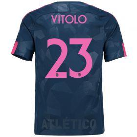 Atlético de Madrid Third Stadium Shirt 2017-18 Special Edition Metropolitano with Vitolo 23 printing