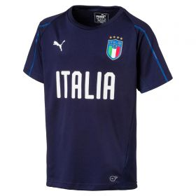 Italy Training Jersey - Navy - Kids