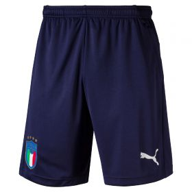 Italy Training Shorts - Navy