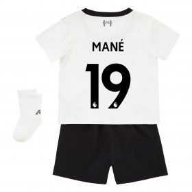 Liverpool Away Baby Kit 2017-18 with Mané 19 printing