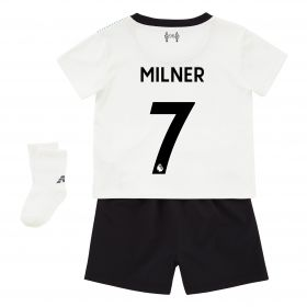 Liverpool Away Baby Kit 2017-18 with Milner 7 printing