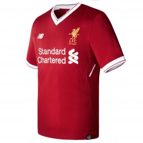 Liverpool Home Shirt 2017-18 with Lovren 6 printing