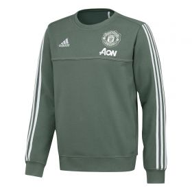 Manchester United Training Sweatshirt - Green