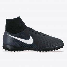 Nike Magista Onda II Dynamic Fit Astroturf Trainers - Black/White/Dark Grey