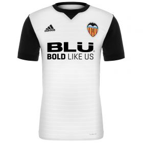 Valencia CF Home Shirt 2017-18 with G. Guedes 7 printing