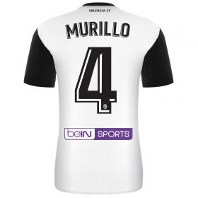 Valencia CF Home Shirt 2017-18 with Murillo 4 printing
