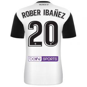 Valencia CF Home Shirt 2017-18 with Rober 20 printing