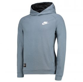 VfL Wolfsburg Fleece Hoody - Grey