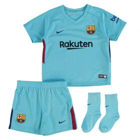 Barcelona Away Stadium Kit 2017-18 - Infants with Coutinho TBC printing