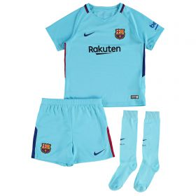 Barcelona Away Stadium Kit 2017-18 - Little Kids with Coutinho TBC printing