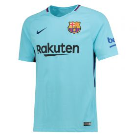 Barcelona Away Stadium Shirt 2017-18 - Kids with Coutinho TBC printing