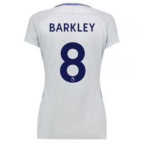 Chelsea Away Stadium Shirt 2017-18 - Womens with Barkley 8 printing
