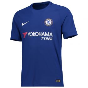Chelsea Home Vapor Match Shirt 2017-18 with Drinkwater 6 printing