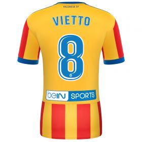 Valencia CF Away Shirt 2017-18 - Kids with Vietto 8 printing
